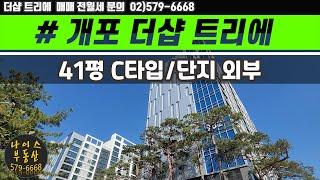 개포 더샵 트리에/우성9차 리모델링/41평 C타입 최초…