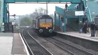 47826 TnT 47804 at Barnetby working 1Z64 Cleethorpes to Edinburgh on a WCRC Charter