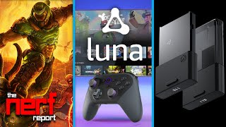 Amazon Luna Cloud Streaming Service   Doom Eternal Game Pass   Xbox SSD Expansion - The Nerf Report