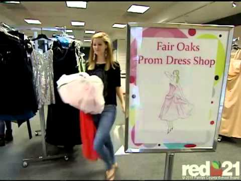 DECA Prom Dress Shop at Fair Oaks Mall - YouTube