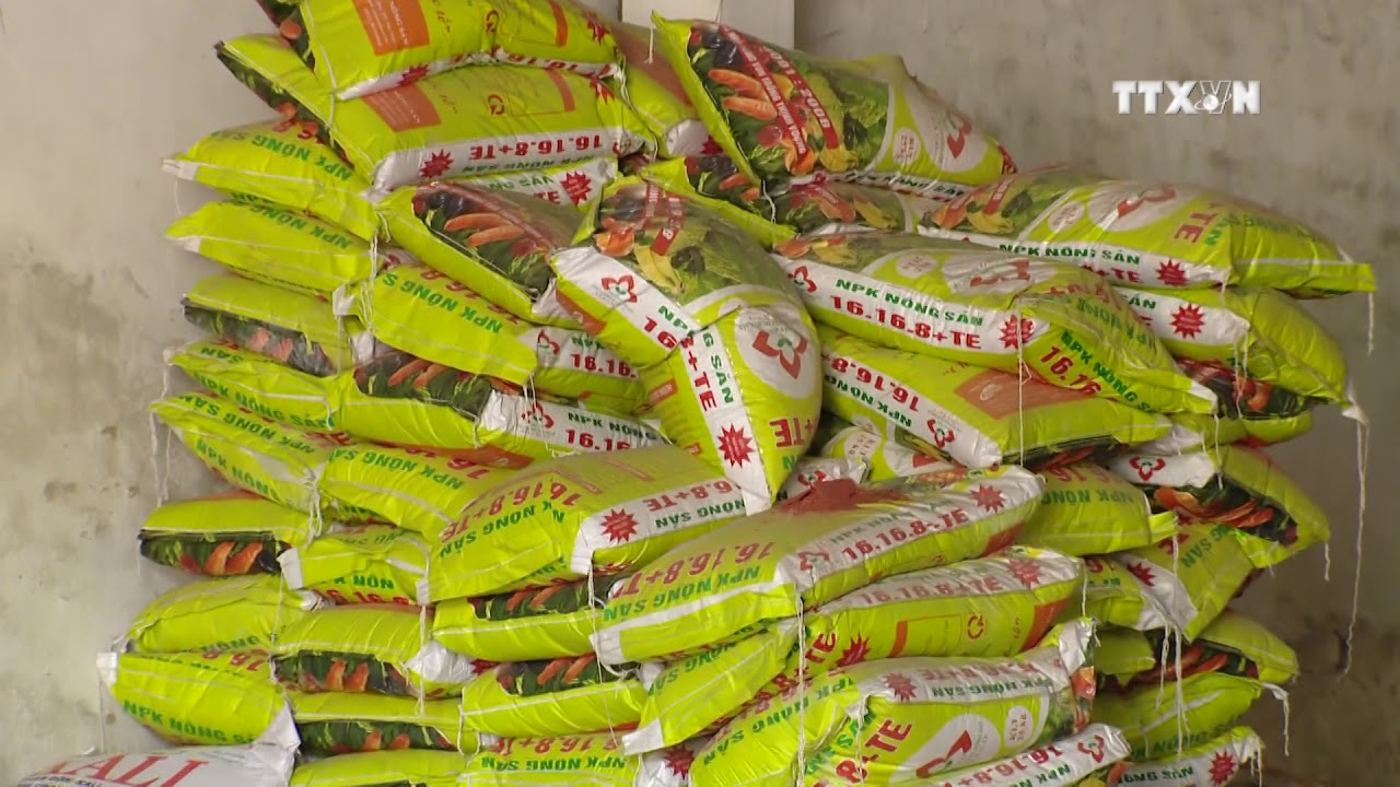 Vietnam imports over 2 4 million tonnes of fertiliser