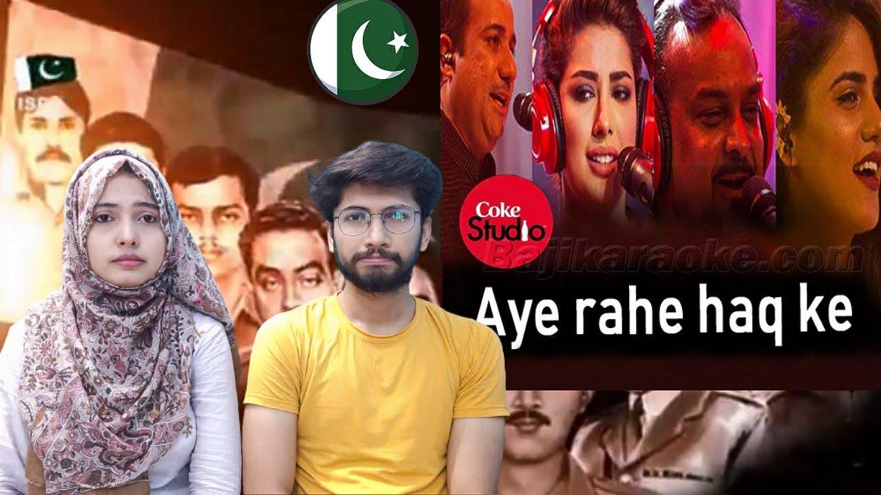 Download Indian reacts to Aye Rah-e-Haq Ke Shaheedo   Coke Studio Season 9