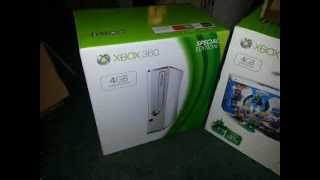 Xbox 360 Slim White 4gb Skylanders Special Edition Bundle