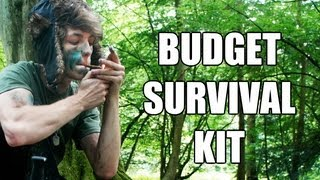 Cheap Budget Survival Kit (£30) - SHTF/Bugout Tips