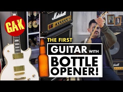 The Worlds First Guitar with Bottle Opener! from YouTube · Duration:  55 seconds