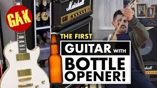 The Worlds First Guitar with Bottle Opener!