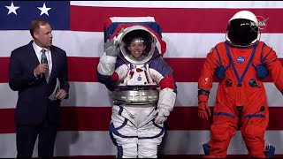 Check Out NASA's New Artemis-Generation Spacesuits