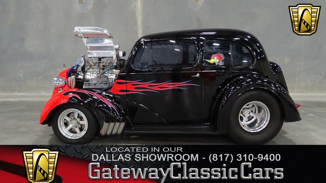1949 Ford Anglia Stock #110 Gateway Classic Cars of Dallas - YouTube