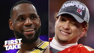 LeBron vs. Patrick Mahomes: Stephen A. and Max debate the MVP of all of sports | First Take