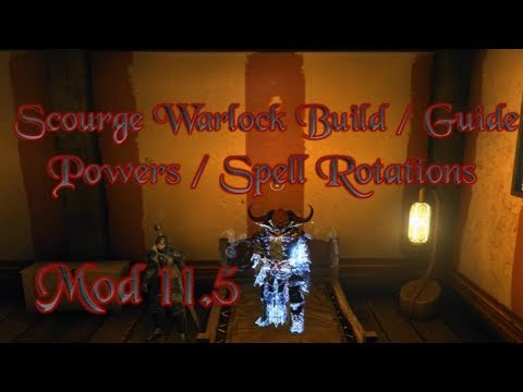 Neverwinter - Warlock - Powers/Spell Rotations Guide - Mod 11.5