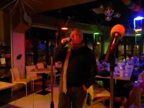 "karaoke cascina petra "" ancora in volo "" di albano. canta giannimarle."