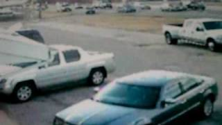 car accident caught on tape