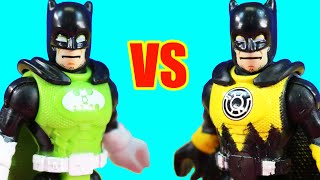 Imaginext Green Lantern Batman Vs Sinestro Batman | Lex Luthor Becomes Superhero With Team Superman