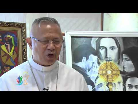 Archbishop Jose Palma talks about the importance  of IEC 2016 event