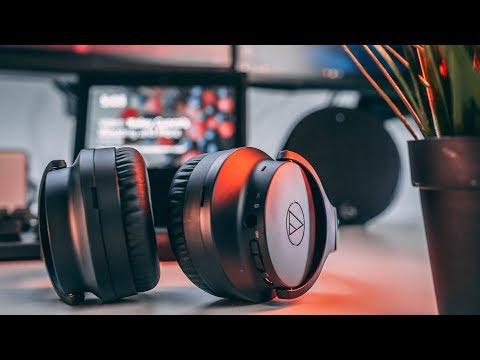 Audio Technica ATH-ANC700BT Review! Sharp Headphones.. WHAT!?
