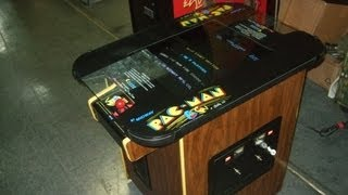 #285 Bally Midway Pacman Cocktail Table Arcade Video Game - Reconditioned! Tnt Amusements