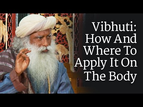 Vibhuti: How And