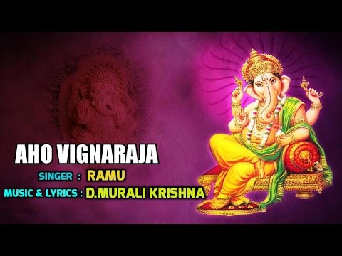 lord-ganesha-songs-||-aho-vignaraja-telugu-devotional-songs-||-lord-vinayaka-songs-||-jayasindoor-||