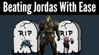 How To Beat The Jordas Golem In Less Than 5 Minutes (Warframe)