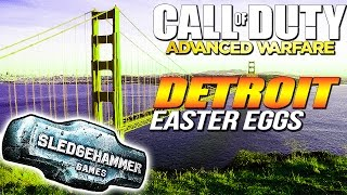 "Call of Duty: Advanced Warfare ""Golden Gate Bridge"" Easter Egg + More Detroit Map Easter Eggs"