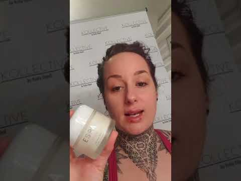 my basic skin care routine . I love espa products