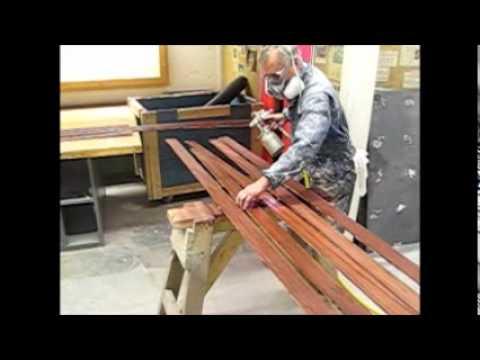 aasd/aha house build week 18 - Spray Water Base Lacquer