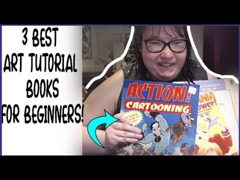 3 Best Art Tutorial Books For Beginners! thumbnail
