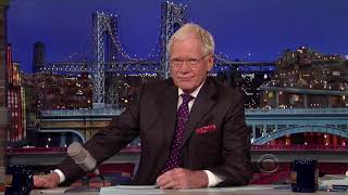 The Late Show With David Letterman With Guest Julia Louis Dreyfus 31st July 2014 (2014 07 31)