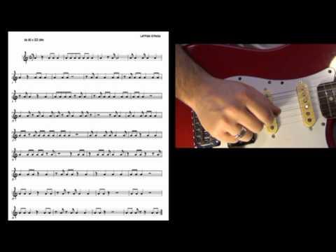 Lezione 10 - esercizio di lettura per chitarra - Massimo Greco (guitar sight reading)