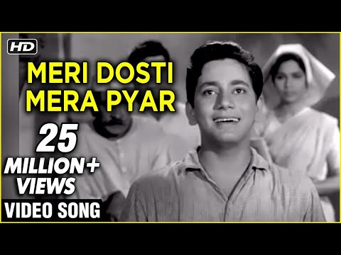 Meri Dosti Mera Pyar Video Song | Dosti | Mohammad Rafi Hit Songs | Laxmikant Pyarelal