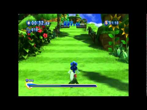 Sonic Generations PC - Gameplay Part 5 Green Hill Challenges