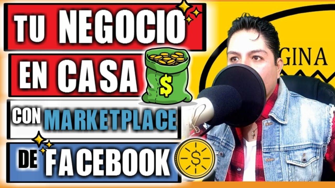 TU NEGOCIO EN CASA VENDIENDO EN MARKETPLACE DE FACEBOOK