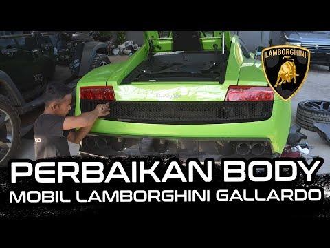 Perbaikan Body, Install dan Special Repair Air Scoop Mobil Lamborghini Gallardo | Supercar.id