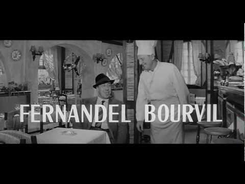 FERNANDEL et BOURVIL 1963  LA CUISINE AU BEURRE  Original Promo 3  YouTube