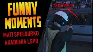 MATI SPEEDURKO VS AKADEMIA POLICYJNA | FUNNY MOMENTS