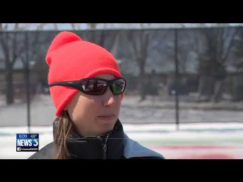 Snow on the ground creates challenges for high school spring sports
