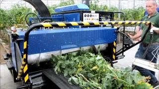 Bio Chopper Compact versnipperaar broyeur shredder tomates tomatoes weterings hakselaar