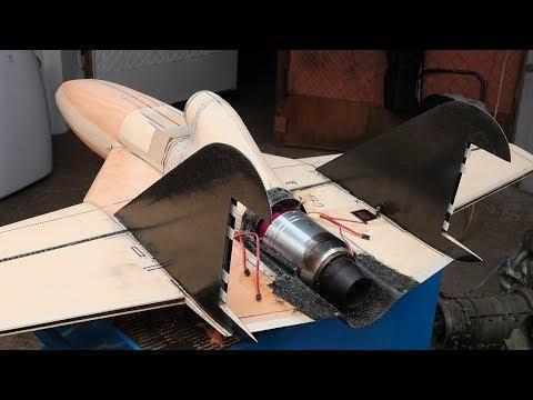Строю болид реактивного самолета - Коршун F-1