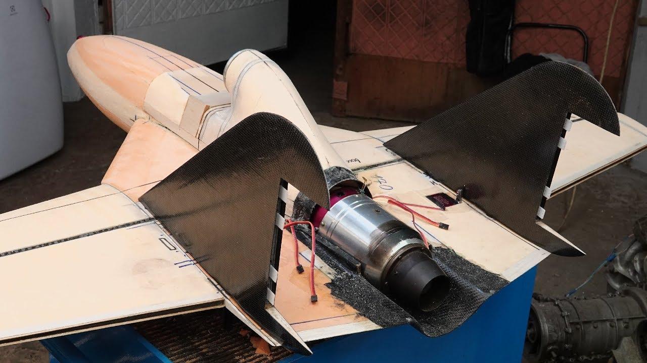 Строю болид реактивного самолета — Коршун F-1