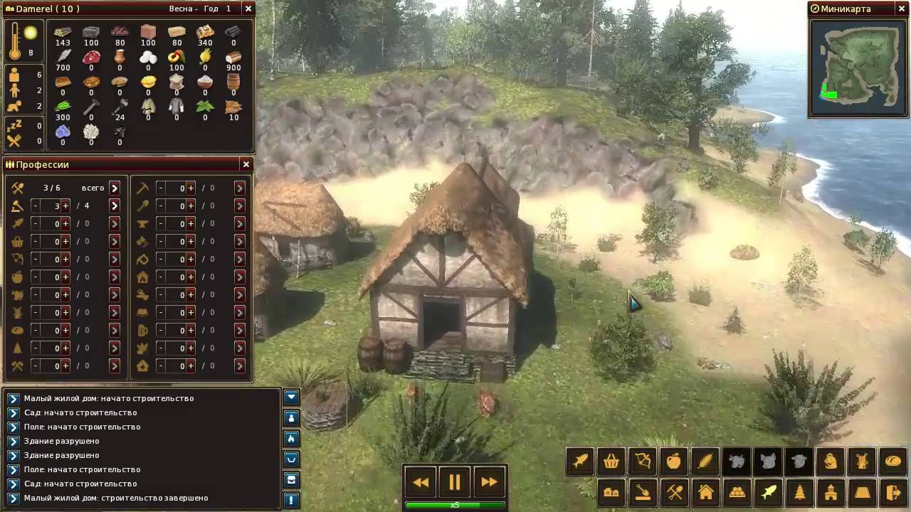 Life is feudal forest village обзор на русском life is feudal армагеддон