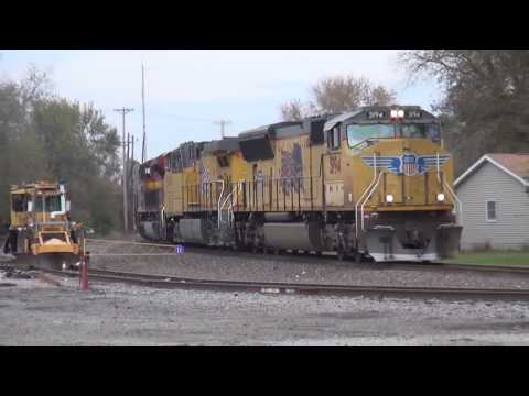 Metro East Rail Action 11/27/2016 Feat WC 3018