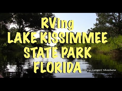RVing Boating and Fishing Lake Kissimmee State Park Florida