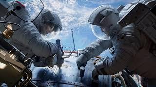 Gravity: decompression sickness, orbital mechanics, and jet chairs