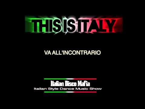 Azzurro -  Lyrics Video ( Cover of Adriano Celentano by IDM - Italian Disco Mafia )