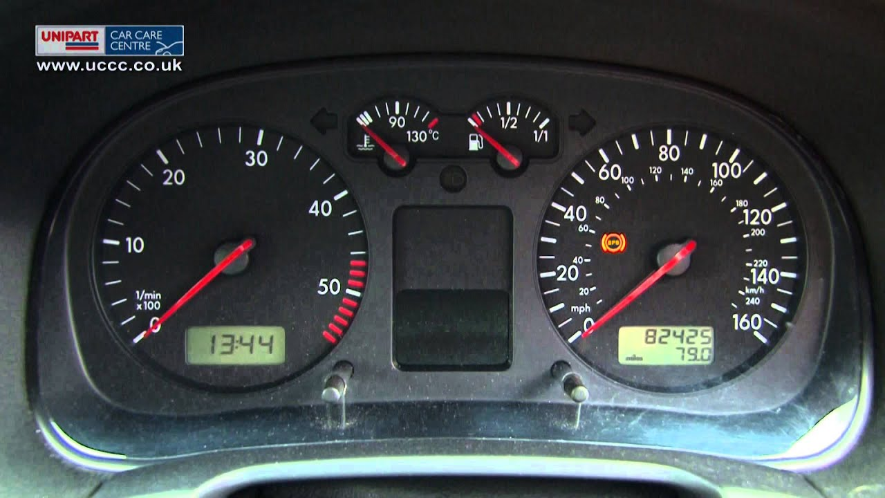 what the warning lights on a dashboard mean