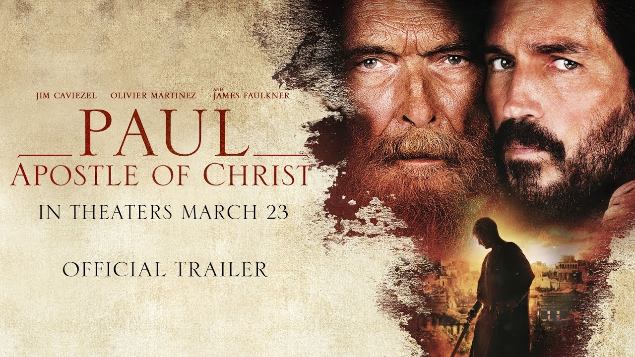 Paul Apostle Of Christ Official Trailer Youtube