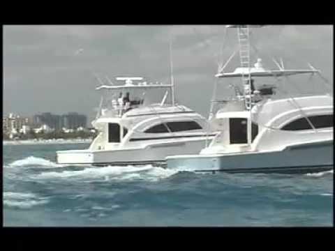 Gyro Stabilizer On Bertram Yacht YouTube