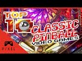My TOP 10 Classic Pinball Video Games | Ep. 86
