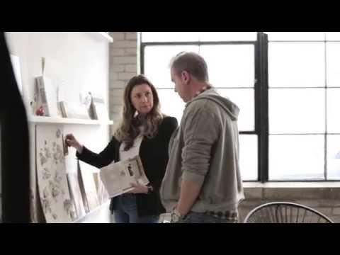 Interior Design — Cool & Creative Interior Designer's Workspace & Artist's Studio