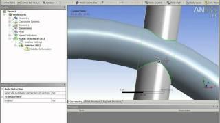 Ansys Урок 1 статичный расчет рамы на прочность.mpeg